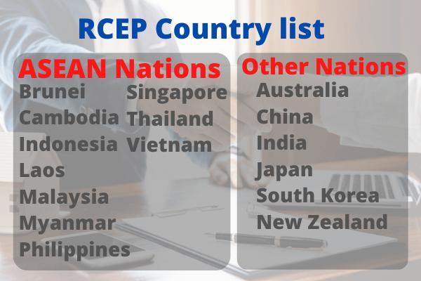 rcep nations