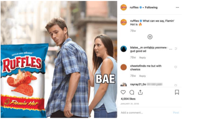 Meme-marketing-ruffles-flamin-hot-casereads
